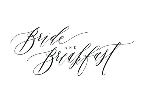 As Featured in Bride and Breakfast